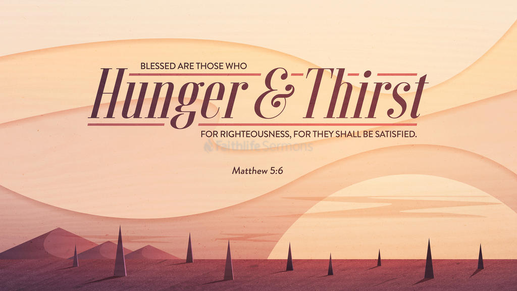 Matthew 5:6 large preview
