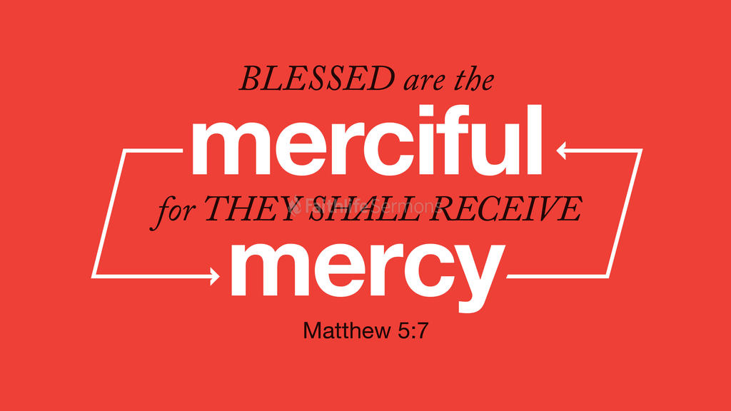 Matthew 5:7 large preview