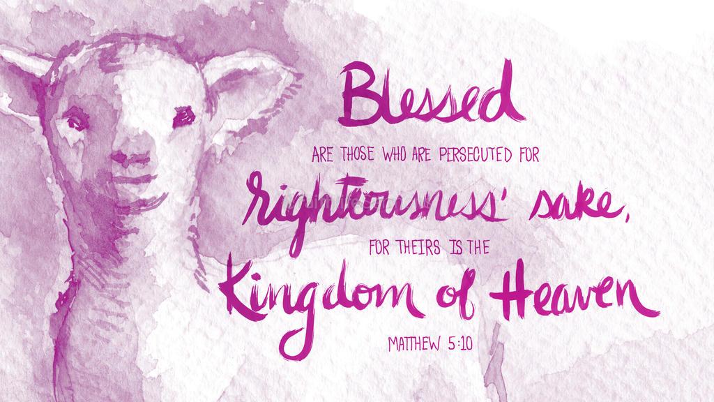 Matthew 5:10 large preview
