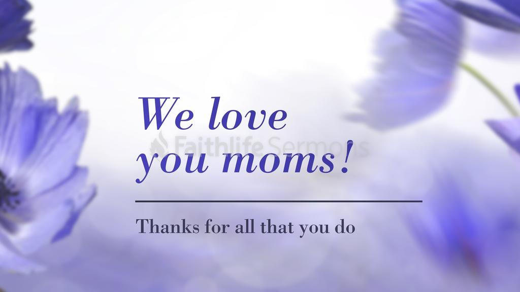 Purple Poppies we love you moms! preview