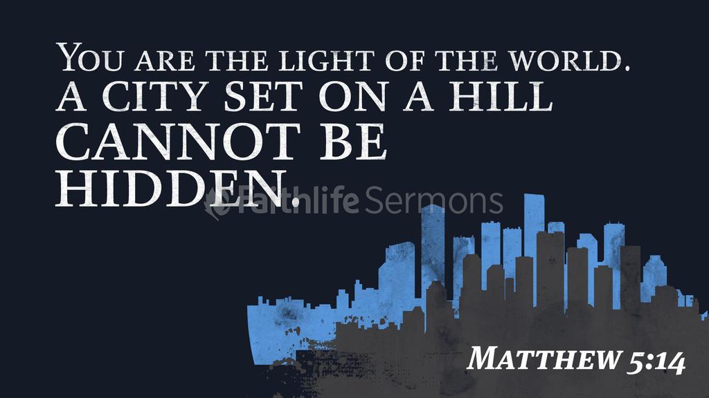 Matthew 5:14 large preview