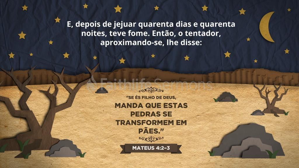 Mateus 4.2–3 large preview