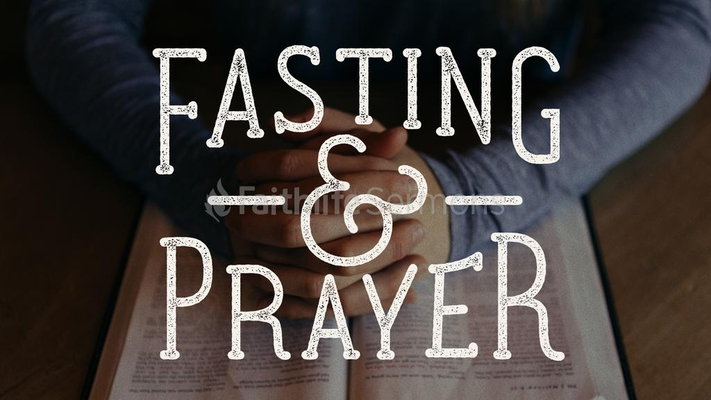 Fasting and Prayer large preview