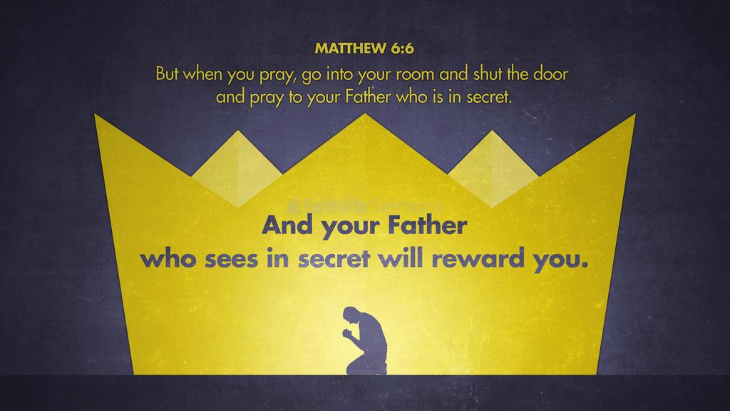 Matthew 6:6 large preview