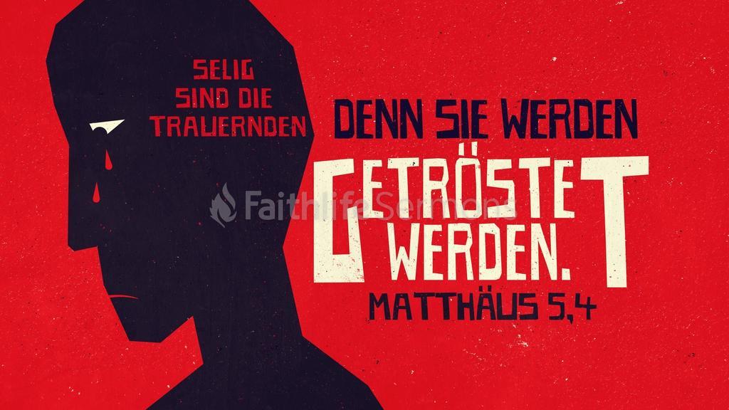 Matthäus 5,4 large preview