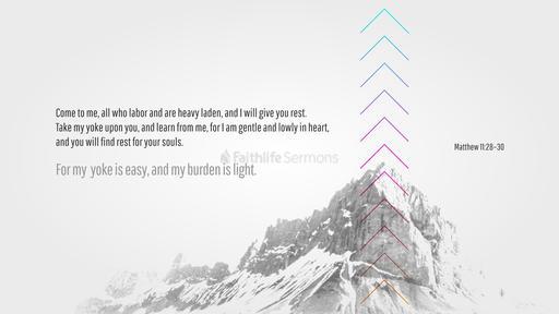 Matthew 11:28–30