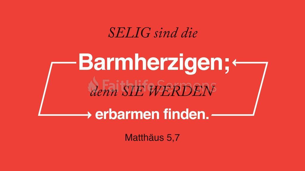 Matthäus 5,7 large preview