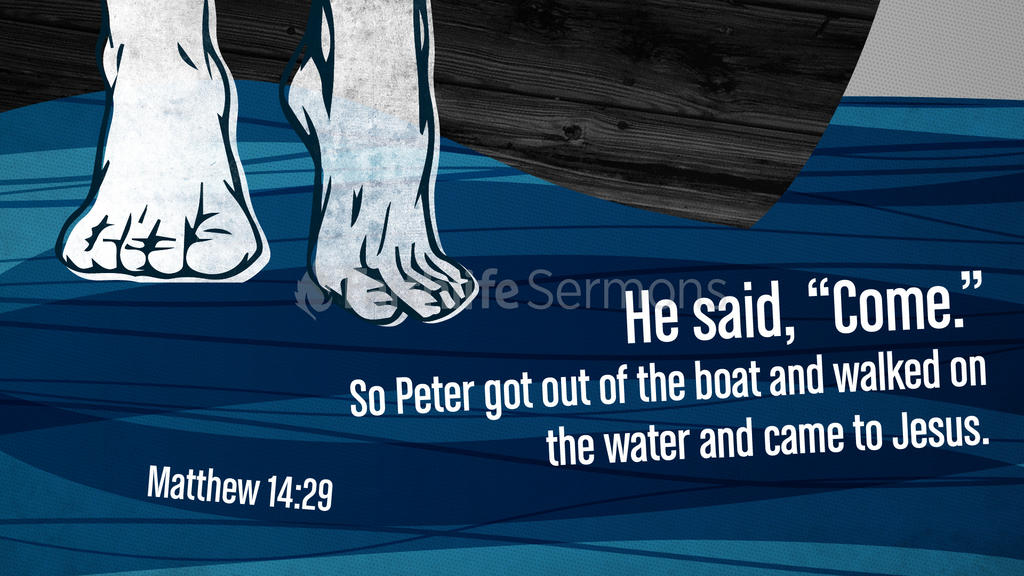 Matthew 14:29 large preview