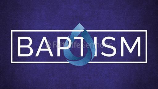 Royal Blue Baptism