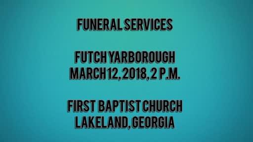 Futch Yarborough Funeral