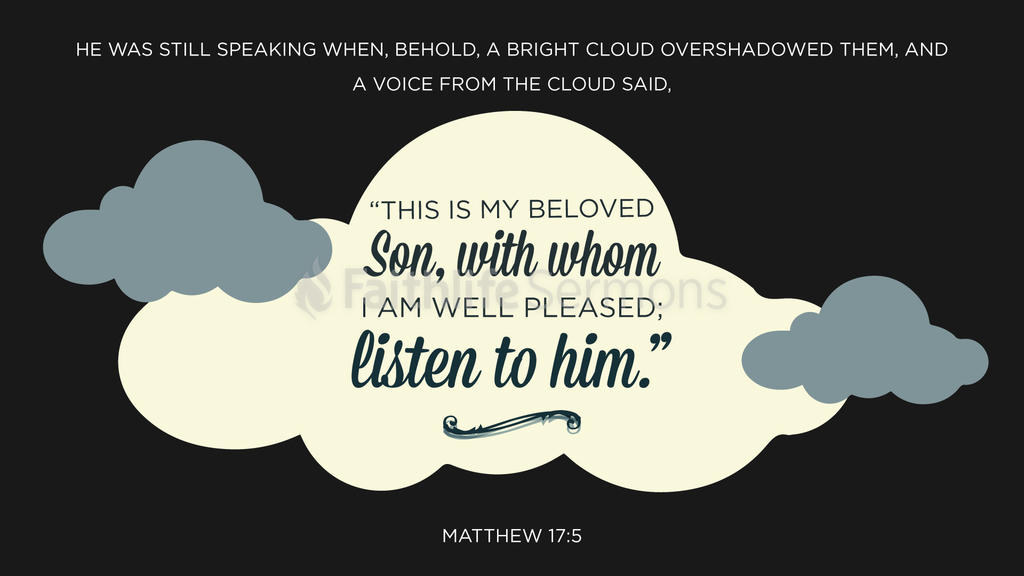 Matthew 17:5 large preview