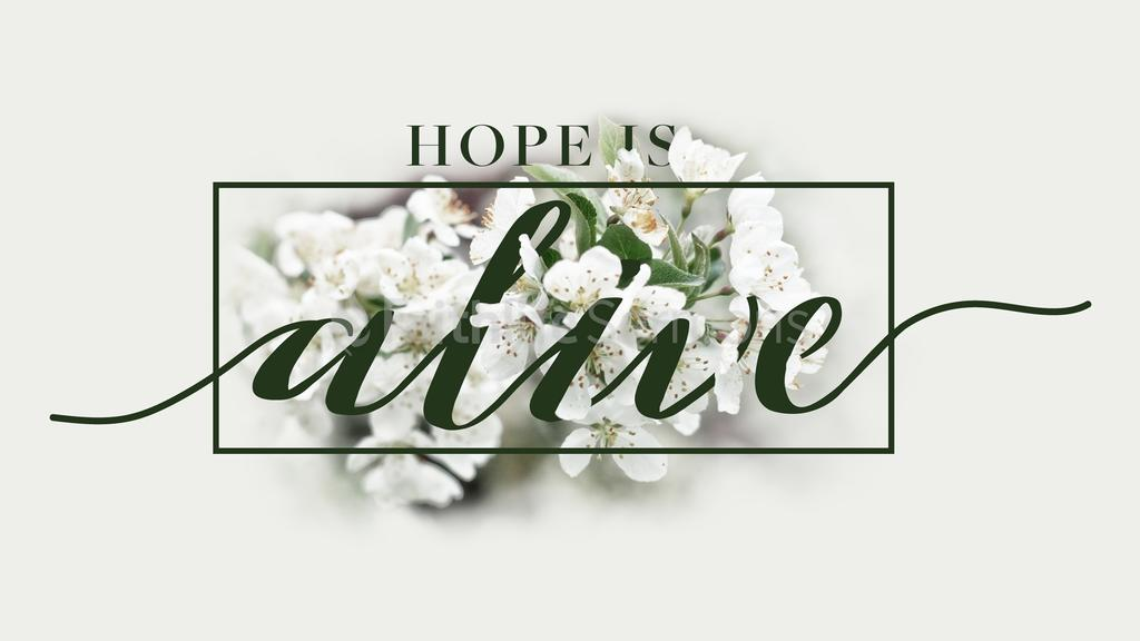 Hope is Alive large preview
