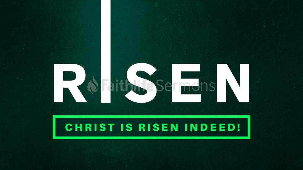Christ is Risen Indeed large preview