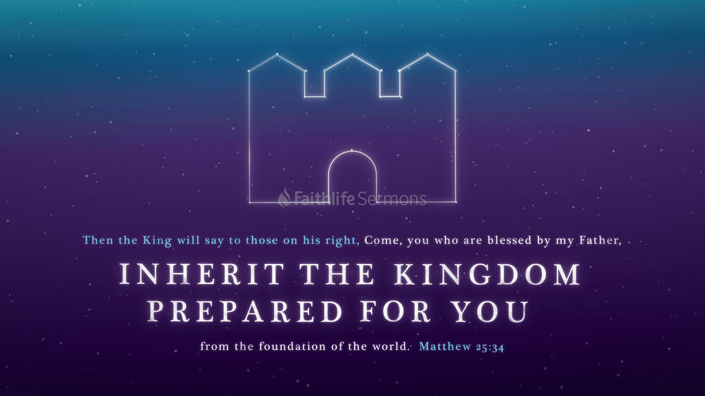 Matthew 25:34 large preview