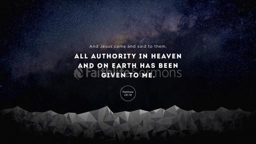Matthew 28:18