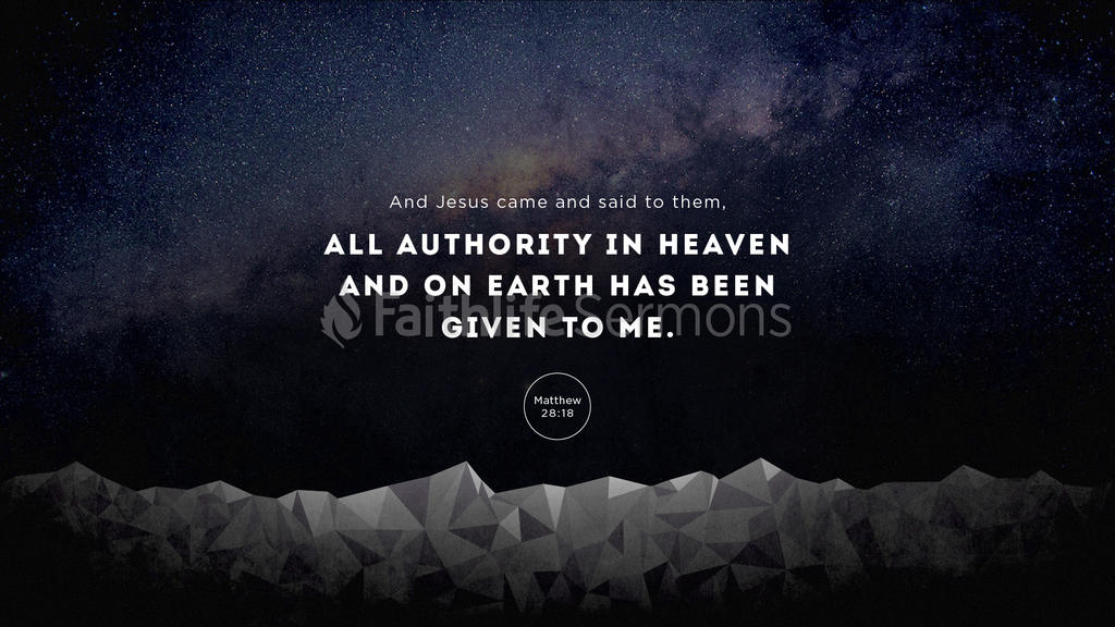 Matthew 28:18 large preview