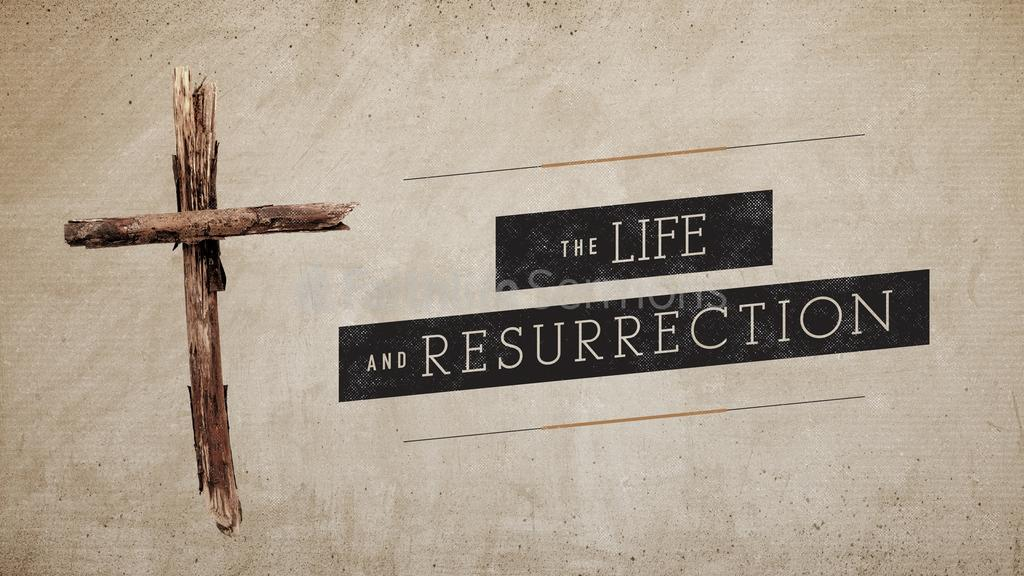 Rustic Cross the life and resurrection preview