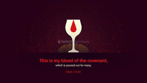 Mark 14:24
