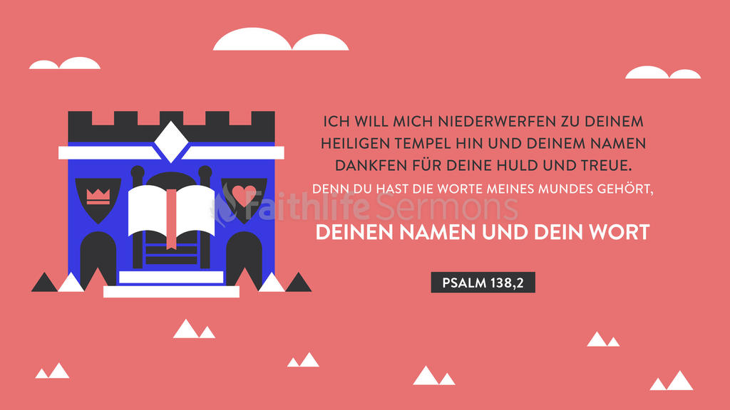 Psalter 138,2 16x9 preview