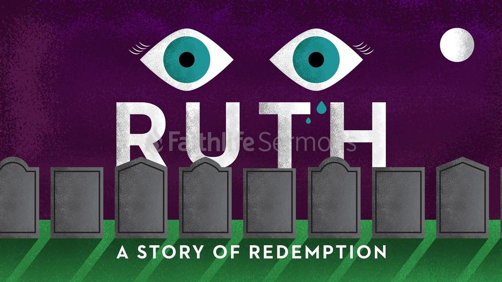 Purple Tombstones ruth story of redemption preview