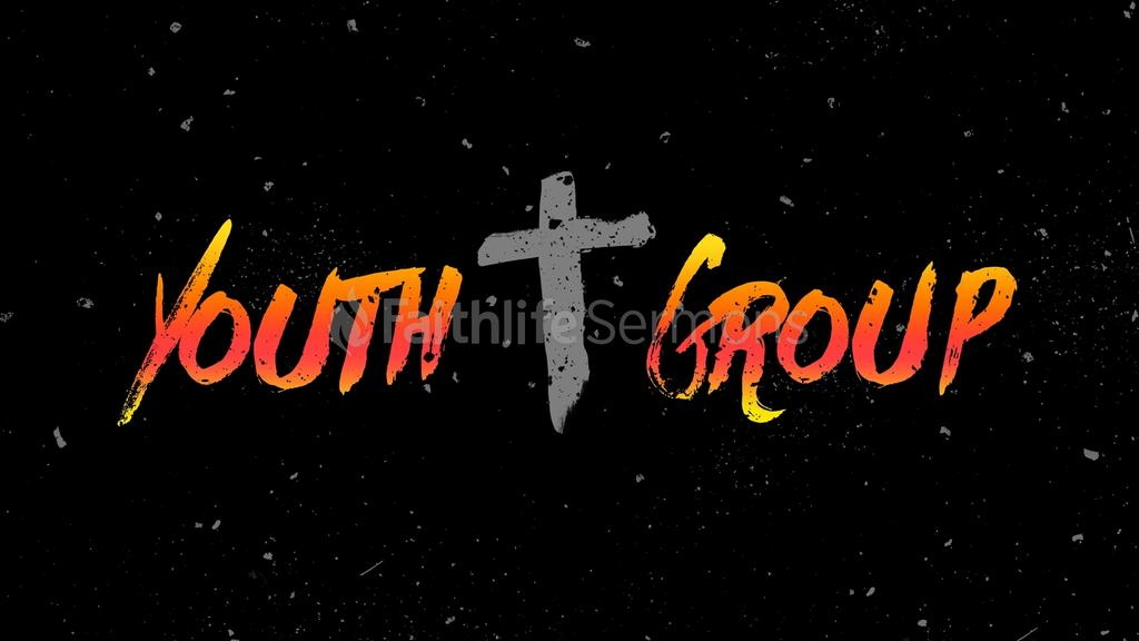 Colorful Grunge youth group preview