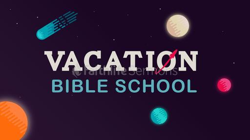 Galactic Vacation Bible School
