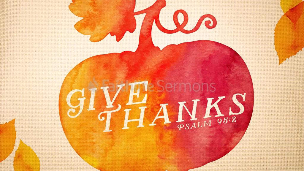 Give Thanks preview