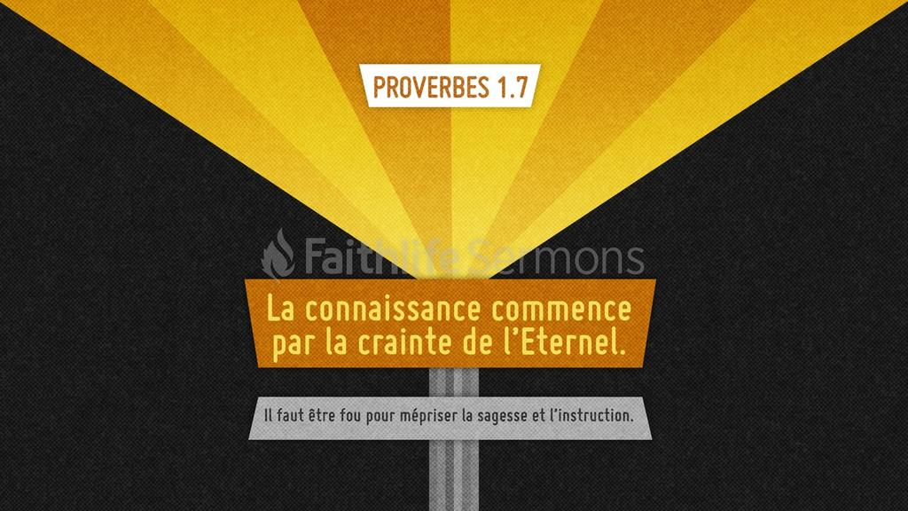 Proverbes 1.7 large preview