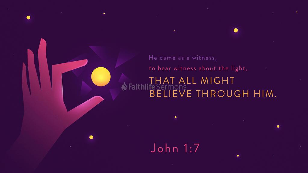 John 1:7 large preview