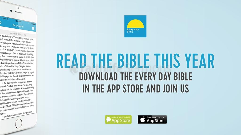 Every Day Bible read the this year preview