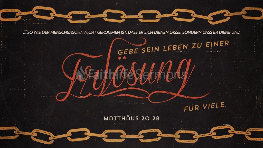 Matthäus 20,28 large preview