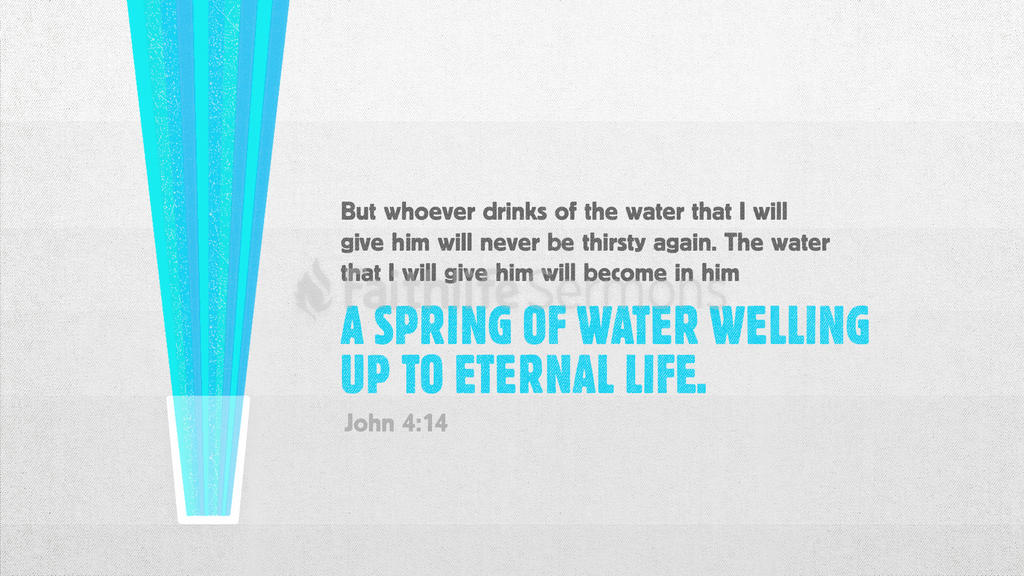 John 4:14 large preview