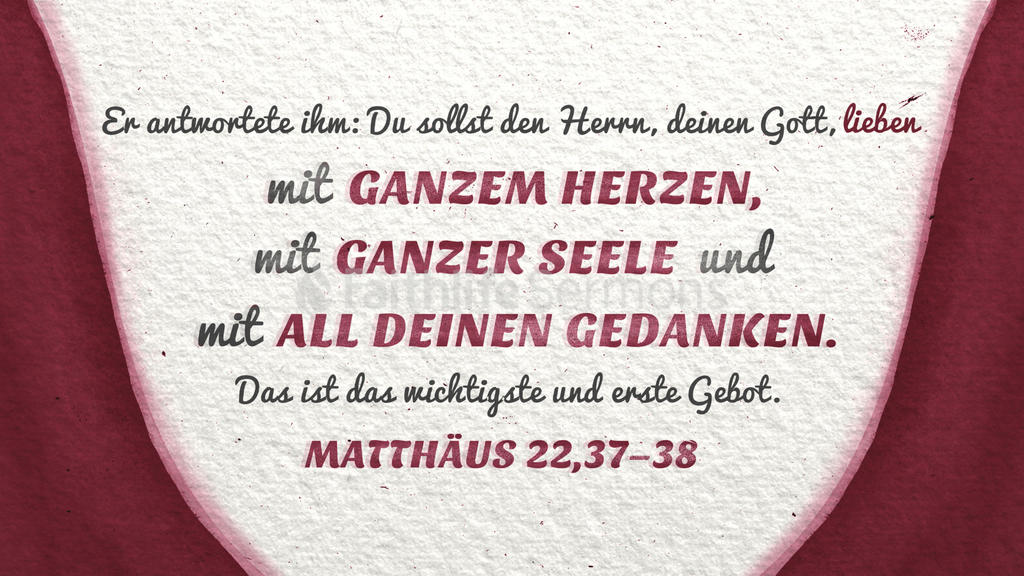 Matthäus 22,37–38 large preview