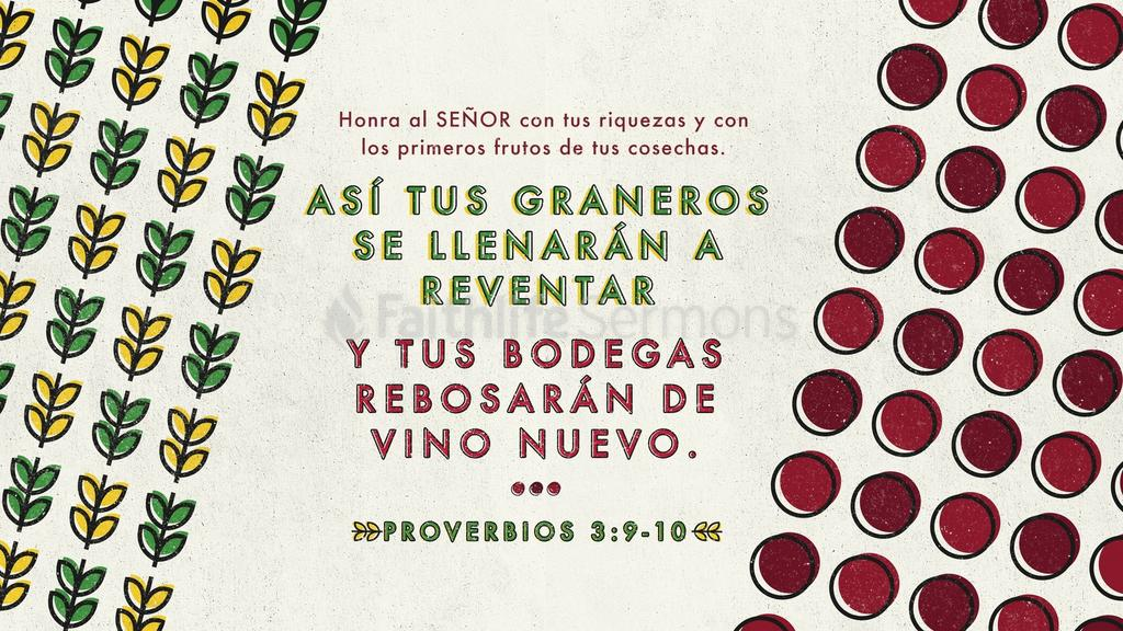 Proverbios 3.9–10 large preview