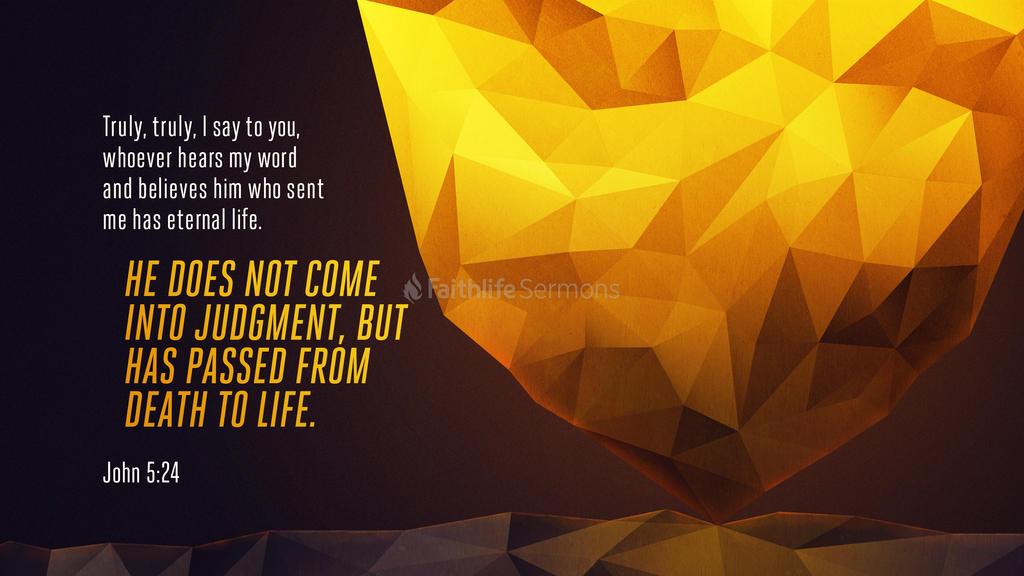 John 5:24 large preview