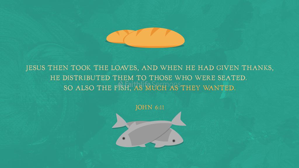 John 6 11 preview
