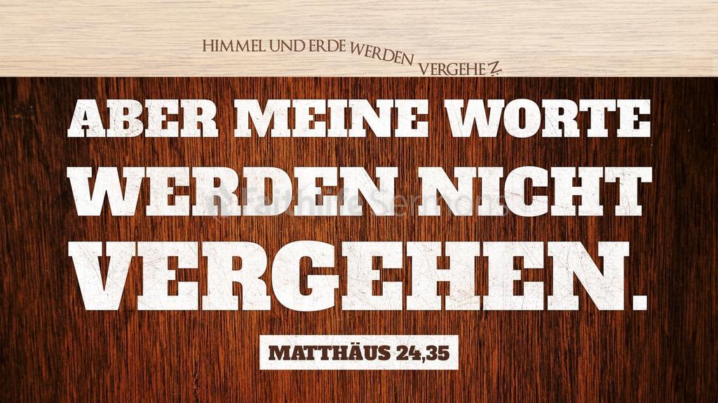 Matthäus 24,35 large preview