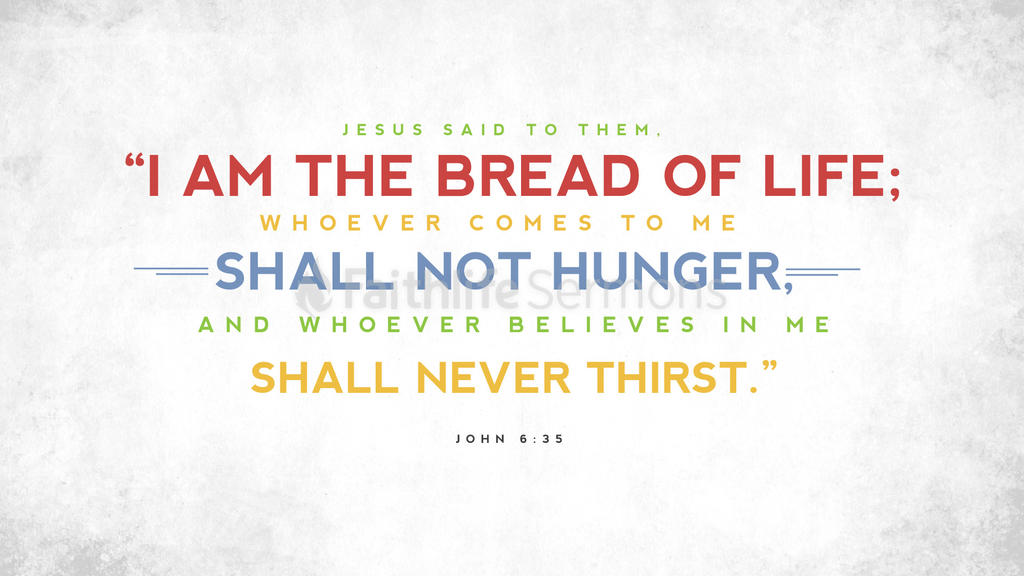 John 6:35 large preview