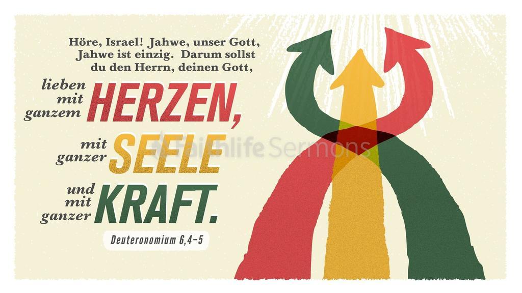 Deuteronomium 6,4–5 large preview