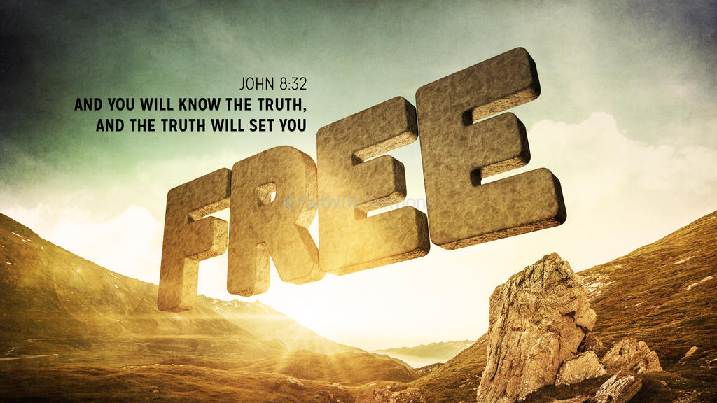 John 8:32 large preview