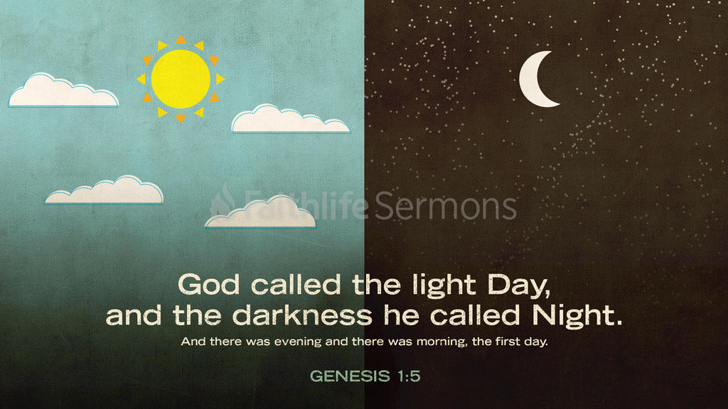 Genesis 1:5 large preview