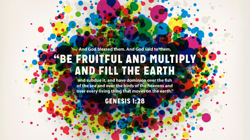 Genesis 1:28 large preview