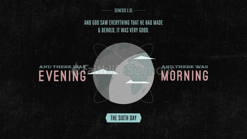 Genesis 1:31 large preview