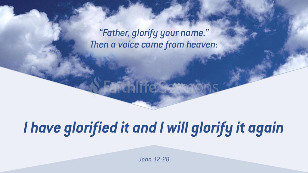 John 12:28 large preview