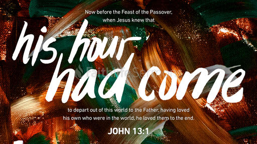 John 13:1