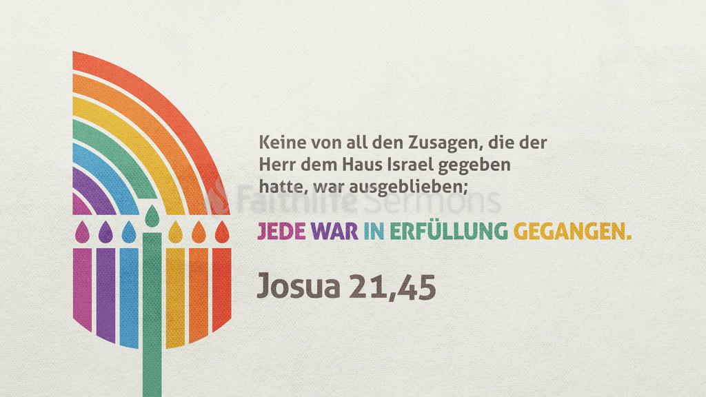 Josua 21,45 large preview