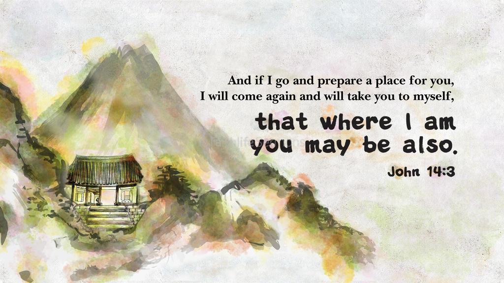 John 14:3 large preview