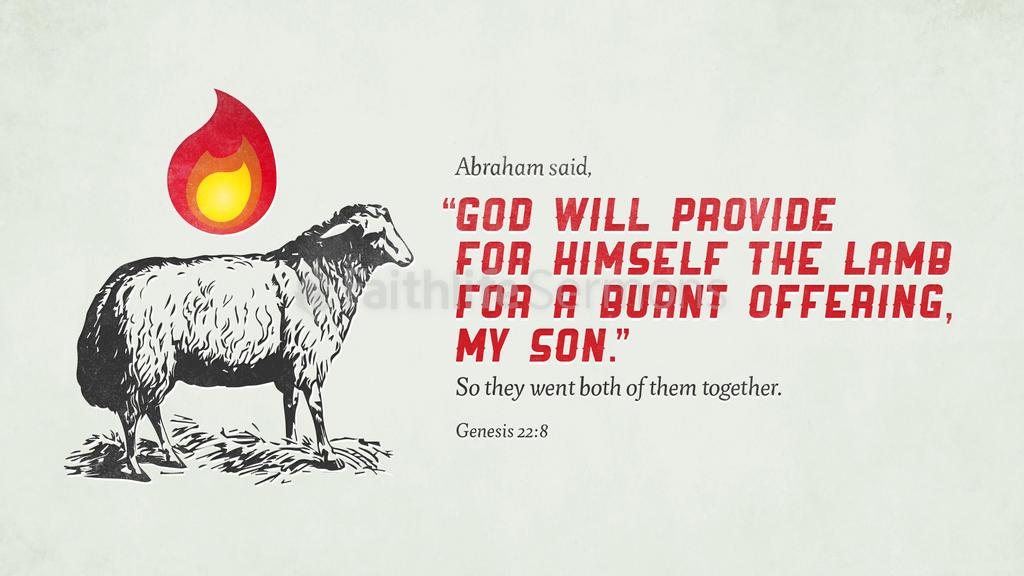 Genesis 22:8 large preview