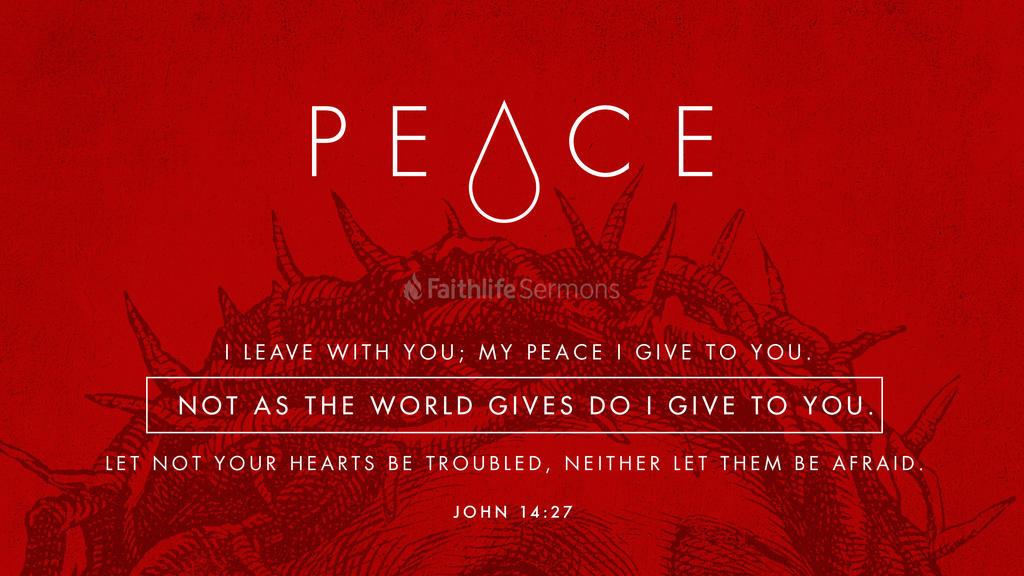 John 14:27 large preview