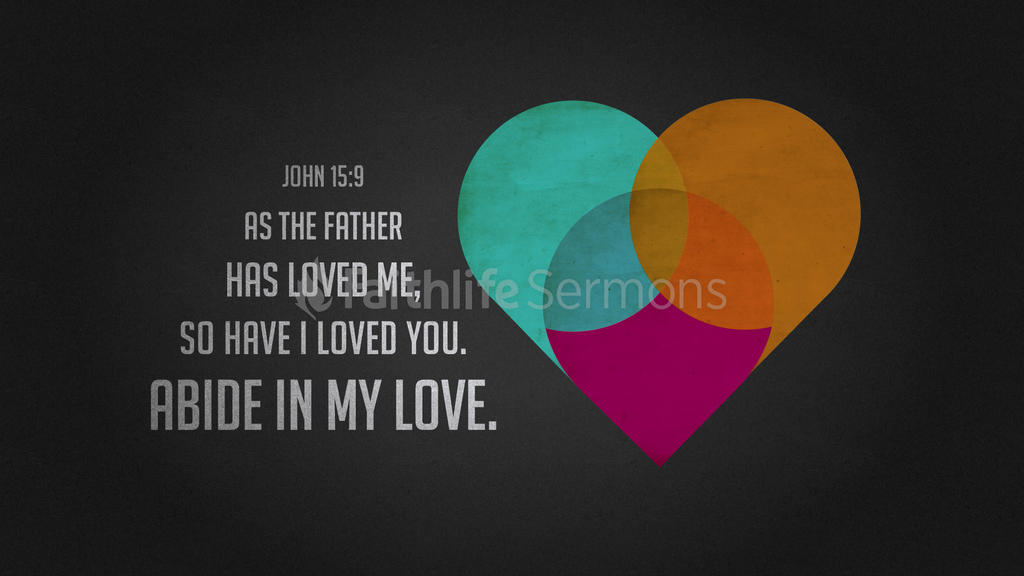 John 15:9 large preview